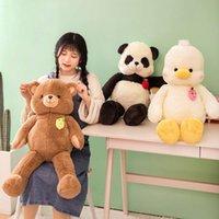 Animais Stuuffed Shooting FísicosCuddle Panda Boneca de Pelúcia Novo Urso Almofada Gigante Prêneros para Meninas Ornamentos de Móveis