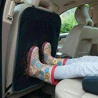 Araba Koltuğu Arkalığı Anti-Kick Kalınlaşmış Ped Arka Koruma Anti-Aşınma Evrensel Çocuk Koruyucu Kapakları