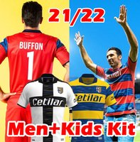21/22 Parma Soccer Jersey Calcio Gardien de but Maglia Portiere 2021 2022 Buffon 1 Kuco Mihaila Gervinho Jerseys Hernani Jr Shirt de football
