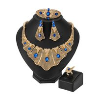 Earrings & Necklace MUKUN African Beads Woman Costume Jewelry Set Exquisite Dubai Gold Bridal Nigerian Wedding Accessories