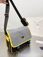 Männer Designer Business Messenger Bag Neueste Wasserdichte Material Frauen Luxurys Umhängetaschen Formale Aktentasche Casual Mode Outing-Geldbörse