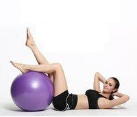 Stokta egzersiz topları anti-patlama yoga denge topu için Pilates, Yoga, stabilite eğitimi ve fizik tedavi 55 cm-75 cm boyutu fitness