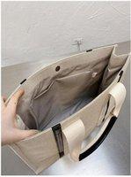 2021 Womens Shopper Fashion Totes Bags Shoulder Bag Women Canvas Woody Tote Handbags Purses Small Medium Large High Quality Handbag O6Uq#