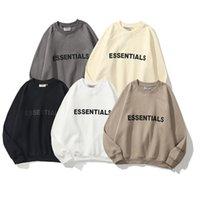 Sweats à capuche à capuche de haute qualité haute qualité officielle pour hommes et femmes Loisirs Fashion Tendances Peur de Dieu Fog Essentials Designer Sweatshirts