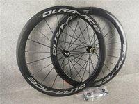 Couleur noire Dura ACE Roue de carbone Roues tubulaires Tubuleuse Jantes 700C Road Bike Wheelset 50x23mm