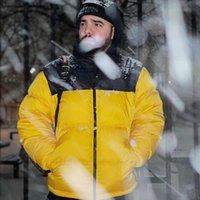 Мужские пальто зимние буквы напечатанные куртки повседневная хип-хоп бомбардировщик мода женские унисекс Parkas для оптовых