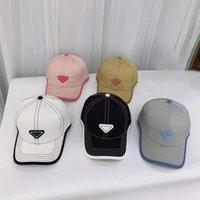 2021 Luxury lienzo gorra hombres mujeres béisbol sombreros deporte al aire libre clásico letra sombrero estilo europeo estilo de Europa cuatro estaciones Caps