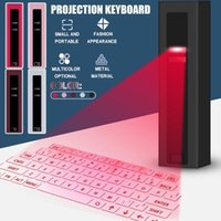 Virtual Wireless Bluetooth Portable Projection Keyboard Outdoor Office For Smart Phone Table Notebook Laptop Keyboards