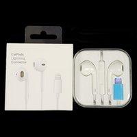 Bonne qualité Écouteurs intra-auriculaires Bluetooth Earpods Earpods pour iPhone 7 8 x 11 12 Plus Pro Max SE Stéréo Écouteur micro Casque de télécommande avec boîte de vente au détail