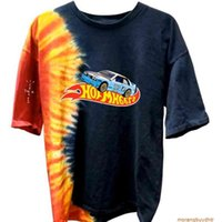 Jack Boys Hotwheels Racing Tie Dye Tee t Shirt Mens Women Astroworld Streetwear Travis Scott T-shirts Kanye West PZ12