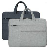Men Briefcases Notebook Laptop Sleeve Carry Case Bag Handbag For Mac MacBook Air Pro 1314151