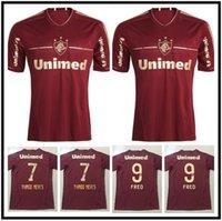 2012 2012 Fluminense Retro Soccer Jersey 11 12 Deco Lanzini Rafael Sobis Thiago Neves Fred Vintage Camisa de Futebol Clássico