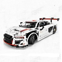 New RC Motor 701023 Technic Series Bricks R8 110 Super Racing Car Technic Model Kits Building Blocks Bricks Toys Kid birthday Gift