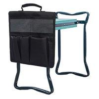 Aufbewahrungstaschen Tragbare Garten-KNefer-Werkzeugtasche für Kniehocker Gartenarbeit Werkzeuge Warenkorb Flachbett Toolkit