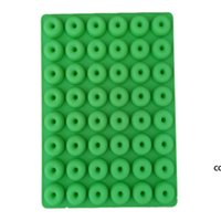 Donut Silicone Mold Bakeware Mini 48 Hole Ice Cube Mould Chocolate Biscuit Cake Molds Kitchen Baking Donuts Pan MouldsDHE8752