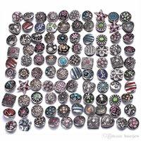 Snap Button 12mm Jewelry Mix Round Snap Bracelet Bangles Necklaces bulk Snap jewelry