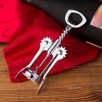 Wine beer bottle openers Stainless steel metal strong Pressure wine Corkscrew grape opener Kitchen Dining Bar accesssory By sea T2I52787