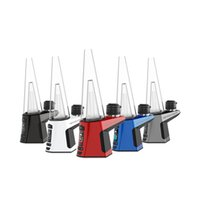 MINGVAPE LUXO Enail Kit Hookah Dabcool W2 With Bag Wax Concentrate Shatter Budder Dab Rigs Vape Mod 4 Heat Settings Temperature Control Glass Pipes