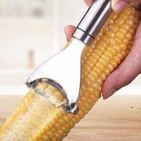 Utili strumenti da cucina in acciaio inox premium di mais BWD6196