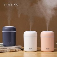 Essential Oils Diffusers Creative colorful cup air white humidifier table home car USB custom logo size 119*78*78mm HWA5547