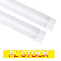 PL STOCK 4Feet Shop luminaire 54W LED LED Lumières de tube 5400LM 6000K 4000K 3000K 3 Les températures de couleur allume 120 cm de placard de garage éclairage pour le sous-sol de la maison