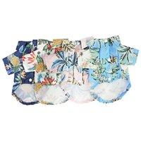 Dog Apparel Hawaiian style Puppy Clothes Summer Pet Clothing For Small Medium s Chihuahua Cat Rabbit Coat Jacket York U5WU 0NV0