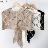 Lace flower Shawl Office Thin Dual-Use Outdoor Spring and Autumn Women Scarf W149