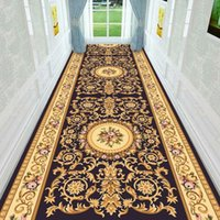Carpets Europe Long Hallway Carpet Bedroom Decorative Corridor Mat Kitchen Rugs Home El Aisle Pastoral Stair Tapis Doormat