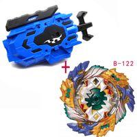 Takara Tomy BEYBLADE BURST B122 149 150 com lançador direito esquerdo lançador de fio de metal de metal de metal starter gyro girando brinquedo brinquedo Bayblade