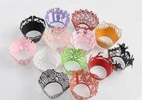 Kuchenbecher Cupcake Wrappers Wraps Wrap Wrapper Liner Liner für Hochzeiten ZTSW6 IBSAE