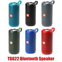 TG622 Bluetooth беспроводные динамики сабвуферов портативный открытый громкоговоритель громкой громкой связи профиль вызовов стерео бас 1200 мАч аккумулятор поддержки TF USB-карты AUX