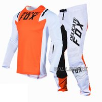 Narin Tilki Flexair Howk Jersey Motocross Motosiklet MX SX Off-Road Dişli Combo Için