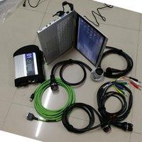 Outils de diagnostic MB STAR C4 SD Connectez-vous avec V06.2021 Software en 480 Go Mini SSD et utilisée P-Anasonic CF-AX2 CPU 4G Scanner Reader