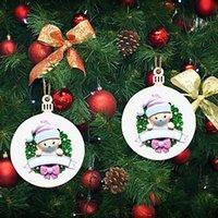 귀여운 인형 산타 클로스 크리스마스 장식품 나무 교수형 장식 선물 크리 에이 티브 맞춤 가족 크리스마스 트리 펜던트