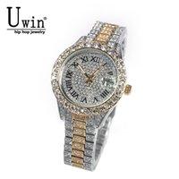Designer Luxury Brand Watches Win Small Dial Women's Baby Pink Iced Out Quartz Clock Rhinestone Vattentät handledsstorlek för kvinnor