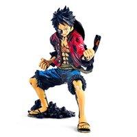 Popular Craneking Japão Anime Um pedaço O rei da coloração Banpresto Figura Colosseum Luffy Ação Figura onepiece Figuras Y0705
