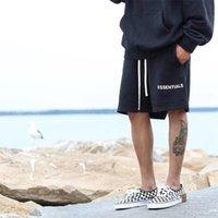2021 Pantaloncini da uomo estate 3d Paura di Dio Essentials Essentials Essentials ricamo Tronchi di nuoto Moda maschile Joggers Streetwear