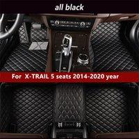 Pour Nissan X-Trail 5 places SIÈCES 2014-2020YEAR NATS Tapis de plancher de voiture de plancher non toxique non toxique antidérapante