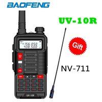 2021 Модели Talkie Baofeng UV-10R Высокая мощность 10 Вт Двойная полоса Двухсторонний Двухсторонний CB HAM Радио USB Зарядка BF UV-10R Новый UV5R Версия обновления UV5R