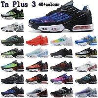 TN 3 a tourné 2021 Plus 2 Big Taille US 12 Chaussures de course Tennis Sports Sports Mens femmes Tous Black Bright Néon Rugby Blanc Hommes Femmes Trai Hsltrade88