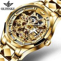 Designer de luxe Marque Montres Top Ooupinke Hommes ES Automatique Gold Tungstène Steel Business Mécanique Saphir Saphir Cristal Poignet