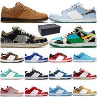 Nike SB Dunk Low  Alta calidad de los zapatos corrientes para los hombres Las mujeres Bred Triple Negro Blanco Sea cierto Sunrise Sunset aguamarina de moda para hombre de