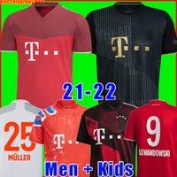 Bayern Münih munich munchen 20 21 LEWANDOWSKI SANE futbol forması COMAN MULLER GNABRY DAVIES futbol forması Erkekler + Çocuk kiti üniformaları MUNCHEN 2020 2021