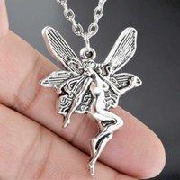 Урожай мода заявление о моде Angel Fairy кулон ожерелье для женщин Cross Choker ювелирные изделия панк гот готические аксессуары WICCA