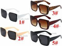 Классические ретро Солнцезащитные очки Женщины Очки Леди Роскошные Черные Белые ПК Рамка Солнцезащитные Очки Винтажное зеркало Oculos de Sol Feminino UV400 10шт Быстрая корабль