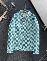 2021ss spring and summer new high grade cotton shirt Men's hoodie Suit pants Casual Fashion jacket Color stripe print sweatshirt Size: s-xxxl Color: black white 658