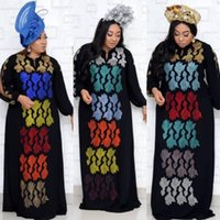 African Dress For Women Diamods Dashiki Dubai Abaya Moroccan Kaftan Africa Clothes Muslim Dresses Gown Arabic Robe Eid Caftan Ethnic Clothin