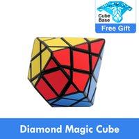 الأصلي diansheng الماس سداسية dipyramid الحجر المحور 3x3x3 شكل وضع ماجيك مكعب لغز التعليم لعب للأطفال ماجيكو كوبو