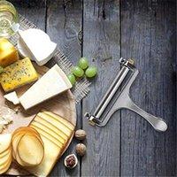 Trancheur à fromage en acier inoxydable Coupeur de fil d'épaisseur réglable parfaitement pour les outils de cuisson de cuisine Pâtisserie