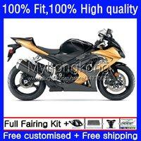 OEM Body Kit för Suzuki GSXR 1000cc 1000 CC K7 2007 2008 Bodywork 27No.73 GSXR1000 Stock Color GSX-R1000 GSXR1000CC 2007-2008 GSXR-1000 07 08 Injektionsformmissor